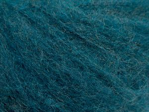 İçerik 46% Akrilik, 32% Yün, 21% Polyamid, 1% Elastan, Turquoise, Brand Ice Yarns, fnt2-68445