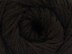Fiber Content 50% Acrylic, 50% Wool, Brand Ice Yarns, Coffee Brown, fnt2-68459