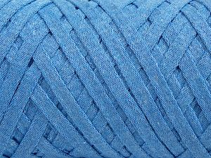 Fiber Content 100% Recycled Cotton, Light Blue, Brand Ice Yarns, fnt2-68506
