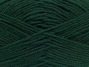 Contenido de fibra 60% Lana Merino, 40% Acrílico, Brand Ice Yarns, Dark Green, fnt2-68570