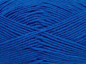 Contenido de fibra 60% Lana Merino, 40% Acrílico, Brand Ice Yarns, Blue, fnt2-68571