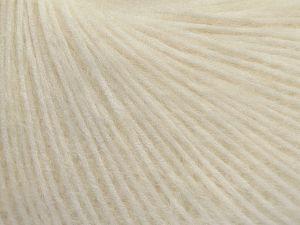 Fiber Content 42% Polyamide, 28% Acrylic, 15% Alpaca, 15% Wool, Brand Ice Yarns, Ecru, fnt2-68595