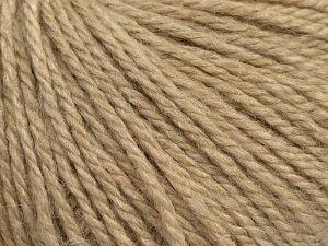 Fiber Content 8% Viscose, 54% Acrylic, 20% Wool, 18% Alpaca, Light Camel, Brand Ice Yarns, fnt2-68621