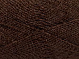 Fiber Content 60% Bamboo, 40% Polyamide, Brand Ice Yarns, Brown, fnt2-68636