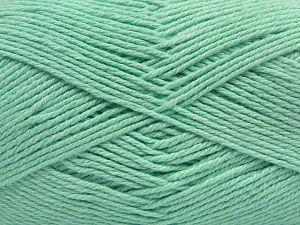 Fiber Content 60% Bamboo, 40% Polyamide, Mint Green, Brand Ice Yarns, fnt2-68648