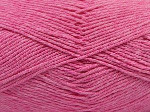 Fiber Content 60% Bamboo, 40% Polyamide, Pink, Brand Ice Yarns, fnt2-68650