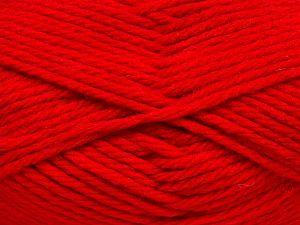 Fiber Content 50% Acrylic, 25% OrganicMerino Wool, 25% Alpaca Superfine, Red, Brand Ice Yarns, fnt2-68700