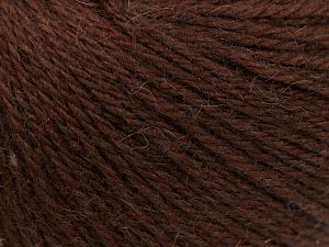 Fiber Content 45% Polyamide, 30% Viscose, 15% Kid Mohair, 10% Baby Alpaca, Brand Ice Yarns, Brown, fnt2-68708