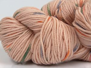 Fiber Content 90% Polyamide, 10% Cashmere, Purple, Powder Pink, Orange, Brand Ice Yarns, Green, fnt2-68728