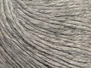 Fiber Content 45% Polyamide, 30% Viscose, 15% Kid Mohair, 10% Baby Alpaca, Light Grey, Brand Ice Yarns, fnt2-68734