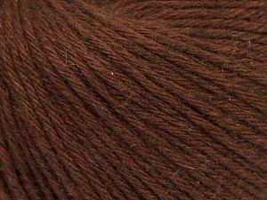 Fiber Content 45% Polyamide, 30% Viscose, 15% Kid Mohair, 10% Baby Alpaca, Brand Ice Yarns, Brown, fnt2-68735