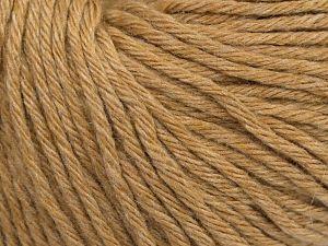 Fiber Content 45% Polyamide, 30% Viscose, 15% Kid Mohair, 10% Baby Alpaca, Milky Brown, Brand Ice Yarns, fnt2-68737