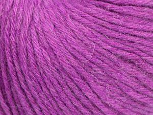 Fiber Content 45% Polyamide, 30% Viscose, 15% Kid Mohair, 10% Baby Alpaca, Lavender, Brand Ice Yarns, fnt2-68744