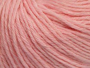 Fiber Content 45% Polyamide, 30% Viscose, 15% Kid Mohair, 10% Baby Alpaca, Brand Ice Yarns, Baby Pink, fnt2-68746
