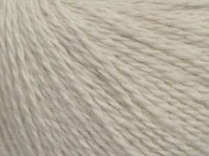 Fiber Content 40% Polyamide, 40% Angora, 20% Cashmere, Brand Ice Yarns, Ecru, fnt2-68755