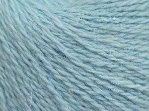 Fiber Content 40% Polyamide, 40% Angora, 20% Cashmere, Light Blue, Brand Ice Yarns, fnt2-68759