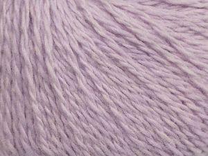 Fiber Content 40% Polyamide, 40% Angora, 20% Cashmere, Light Lilac, Brand Ice Yarns, fnt2-68761