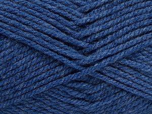 Bulky Fiber Content 100% Acrylic, Brand Ice Yarns, Dark Blue, fnt2-68795