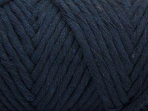 Fiber Content 100% Cotton, Brand Ice Yarns, Dark Navy, fnt2-68840