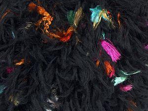 İçerik 50% Mikro Fiber, 25% Akrilik, 25% Polyester, Brand Ice Yarns, Black, fnt2-68847