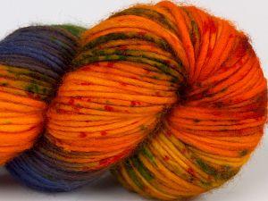 Fiber Content 100% Superwash Merino Wool, Red, Orange Shades, Brand Ice Yarns, Green, Gold, Blue Shades, fnt2-68874