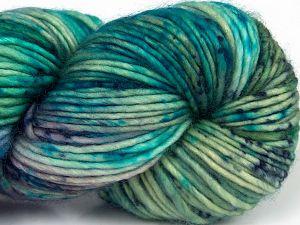 Fiber Content 100% Superwash Merino Wool, Lilac Shades, Brand Ice Yarns, Green Shades, Blue Shades, fnt2-68876