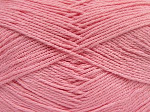 Fiber Content 60% Bamboo, 40% Polyamide, Brand Ice Yarns, Baby Pink, fnt2-68920
