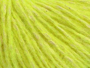İçerik 66% Pamuk, 5% Polyamid, 15% Yün, 13% Alpaka, 11% Akrilik, Neon Green, Brand Ice Yarns, fnt2-68927