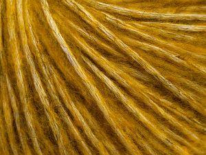 İçerik 64% Pamuk, 22% Alpaca Superfine, 14% Yün, Brand Ice Yarns, Gold, fnt2-69056