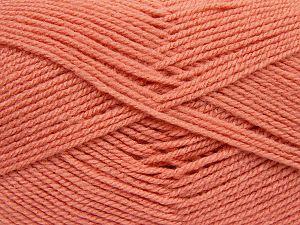 Fiber Content 100% Baby Acrylic, Light Salmon, Brand Ice Yarns, fnt2-69078