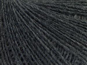 Fiber Content 50% Merino Wool, 25% Acrylic, 25% Alpaca, Brand Ice Yarns, Anthracite Black, Yarn Thickness 2 Fine Sport, Baby, fnt2-69095