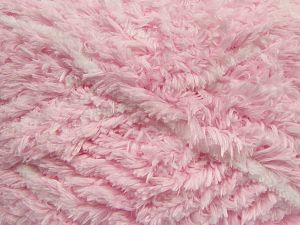Fiber Content 100% Micro Fiber, White, Light Pink, Brand Ice Yarns, fnt2-69128