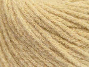 Fiber Content 36% Polyamide, 31% Extrafine Merino Wool, 30% Baby Alpaca, 3% Elastan, Brand Ice Yarns, Dark Cream, fnt2-69130
