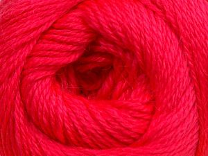 Fiber Content 45% Alpaca, 30% Polyamide, 25% Wool, Neon Pink, Brand Ice Yarns, fnt2-69178