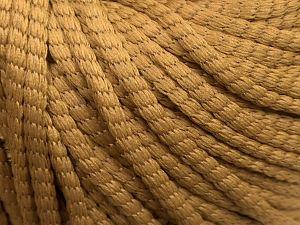 Fiber Content 75% Polyester, 25% Polyamide, Milky Brown, Brand Ice Yarns, fnt2-69202