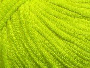 Fiber Content 75% Polyester, 25% Polyamide, Neon Green, Brand Ice Yarns, fnt2-69211