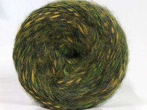 Fiber Content 50% Wool, 30% Acrylic, 20% Alpaca, Yellow, Brand Ice Yarns, Green Shades, fnt2-69221