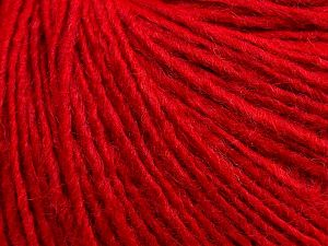 İçerik 50% Merino Yün, 25% Alpaka, 25% Akrilik, Red, Brand Ice Yarns, fnt2-69242