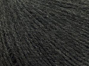 İçerik 50% Akrilik, 25% Alpaka, 25% Merino Yün, Brand Ice Yarns, Dark Grey, fnt2-69302