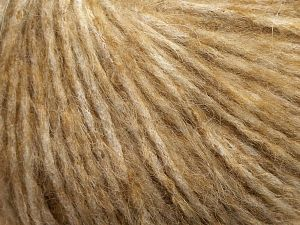 Fiber Content 50% Wool, 25% Nylon, 25% Acrylic, Light Brown, Brand Ice Yarns, fnt2-69363