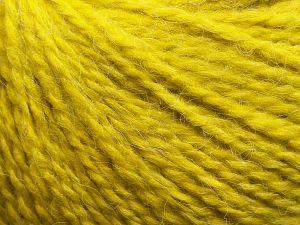 Fiber Content 50% Acrylic, 37% Nylon, 3% Elastan, 10% Angora, Pistachio Green, Brand Ice Yarns, fnt2-69370