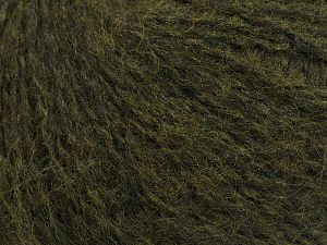 Fiber Content 50% Acrylic, 50% Polyamide, Brand Ice Yarns, Dark Khaki, fnt2-69376