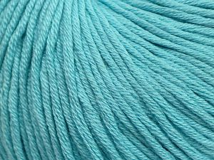 Fiber Content 50% Cotton, 50% Acrylic, Light Turquoise, Brand Ice Yarns, fnt2-69401