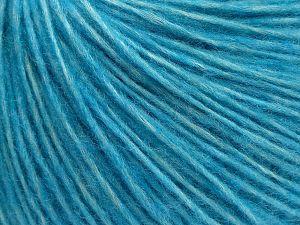 İçerik 66% Merino Yün, 34% Organik Pamuk, Turquoise, Brand Ice Yarns, fnt2-69448