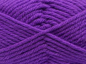 Fiber Content 100% Acrylic, Purple, Brand Ice Yarns, fnt2-69479