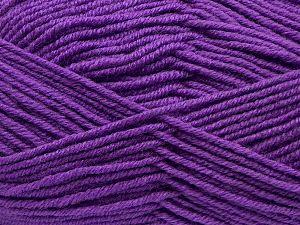 İçerik 60% Merino Yün, 40% Akrilik, Purple, Brand Ice Yarns, fnt2-69480
