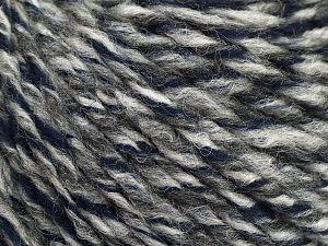 İçerik 70% Akrilik, 30% Yün, Brand Ice Yarns, Grey Shades, Dark Navy, fnt2-69535