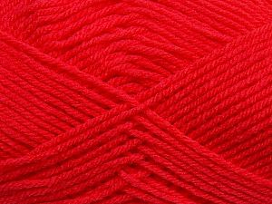 Cold Rinse. Short spin. Do not wring. Do not iron. Dry cleanable. Do not bleach. Fiber Content 50% Polyamide, 50% Acrylic, Brand Ice Yarns, Dark Salmon, fnt2-69560