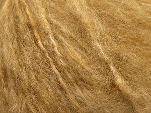Fiber Content 45% Acrylic, 25% Wool, 20% Mohair, 10% Polyamide, Milky Brown, Brand Ice Yarns, fnt2-69581