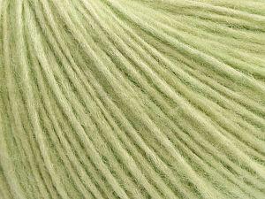 İçerik 66% Merino Yün, 34% Organik Pamuk, Mint Green, Brand Ice Yarns, fnt2-69623